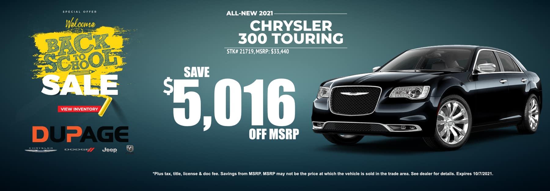 September_2021 Chrysler 300_B2S Dupage