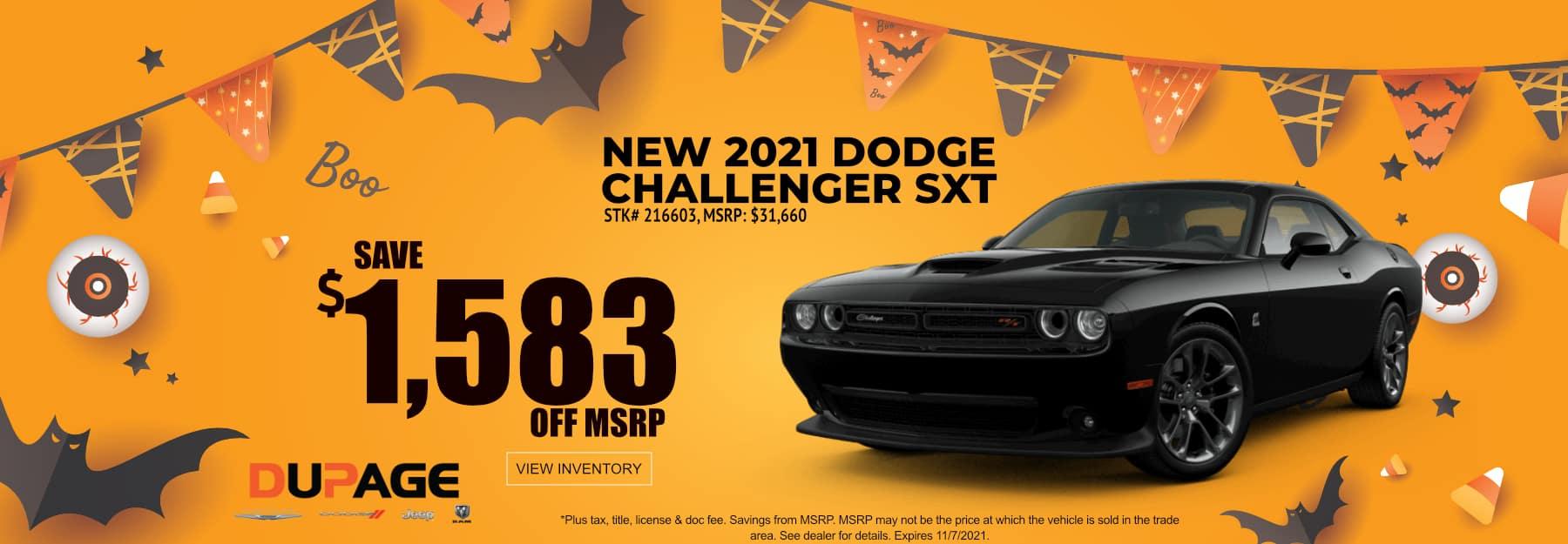 October_2021 Challenger_Dupage
