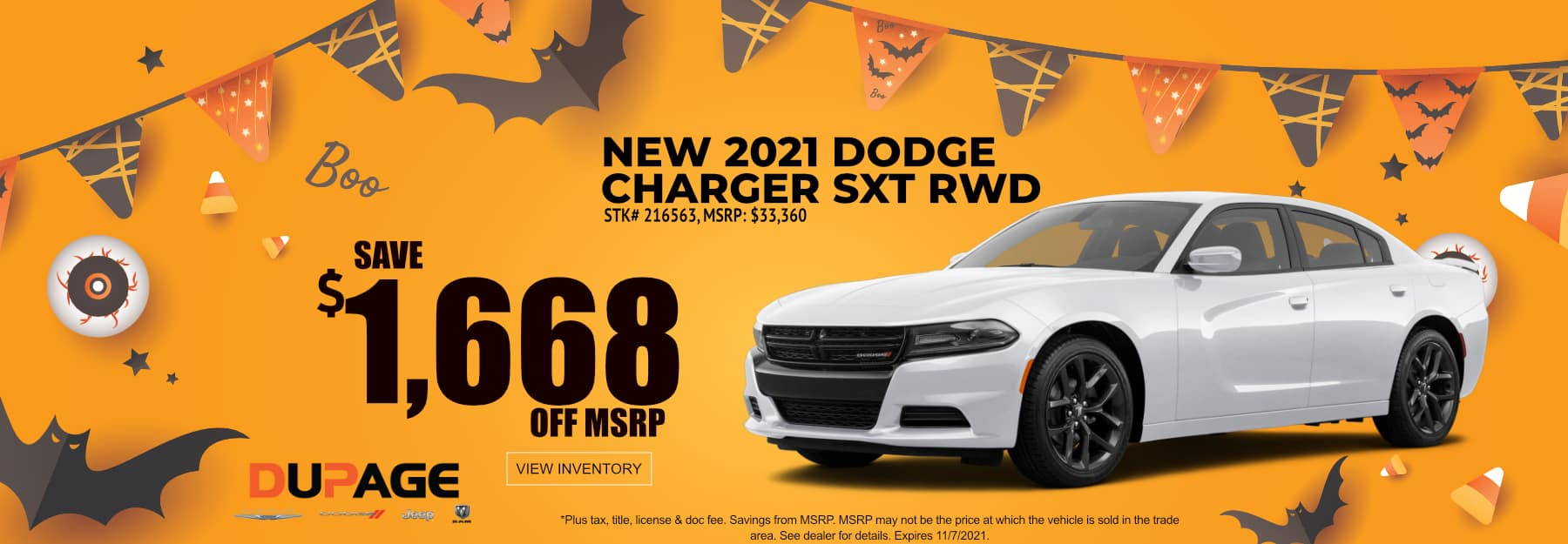 October_2021 Charger_Dupage