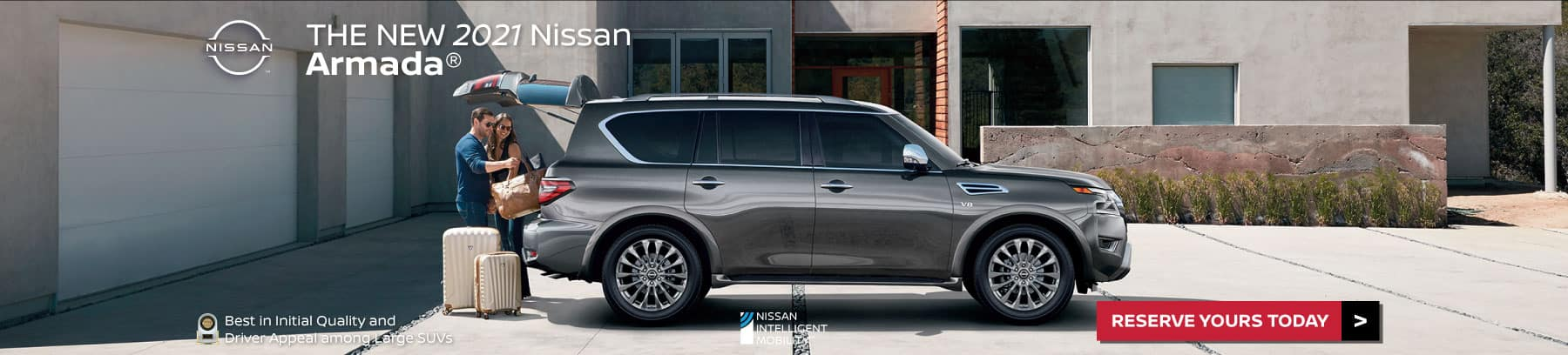 The new 2021 Nissan Armada