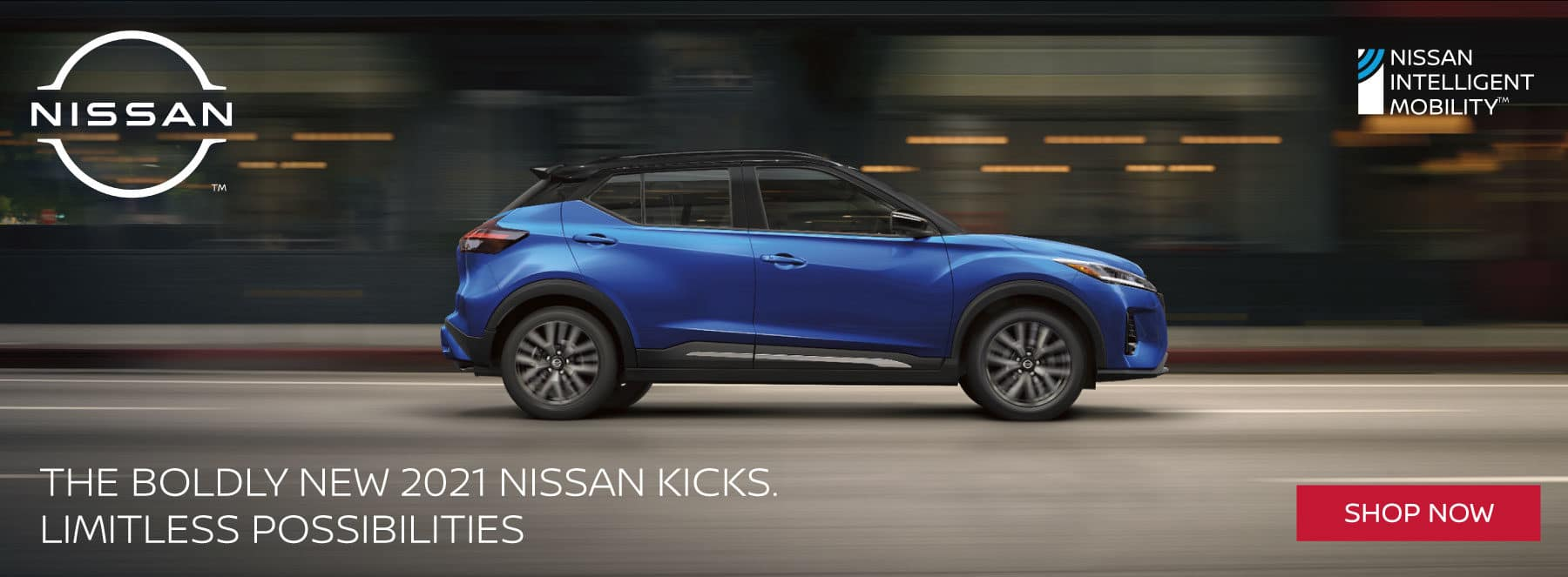 The boldly new 2021 Nissan Kicks