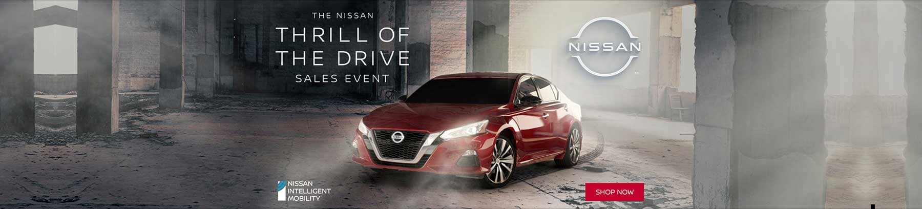 The Nissan Thrill Of The Drive Sales Event