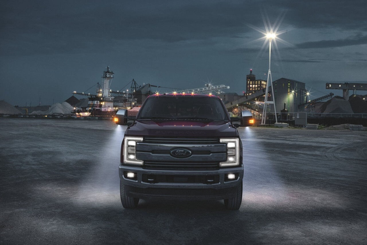 2017 Ford Super Duty Front Exterior