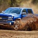 2018 Chevrolet Silverado in action