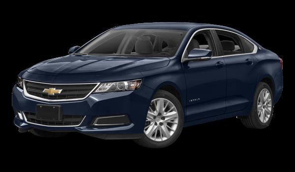 2017 Chevrolet Impala white background