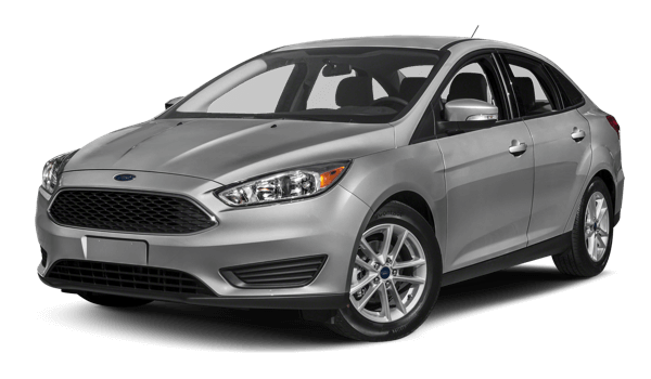 2017 Ford Focus white background