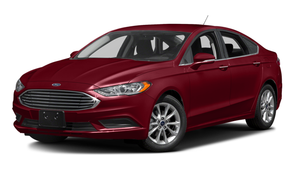 2017 Ford Fusion white background