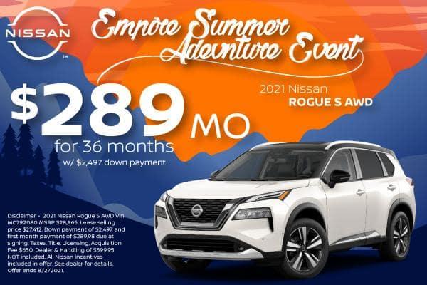 2021 Nissan Rogue Offers for Denver