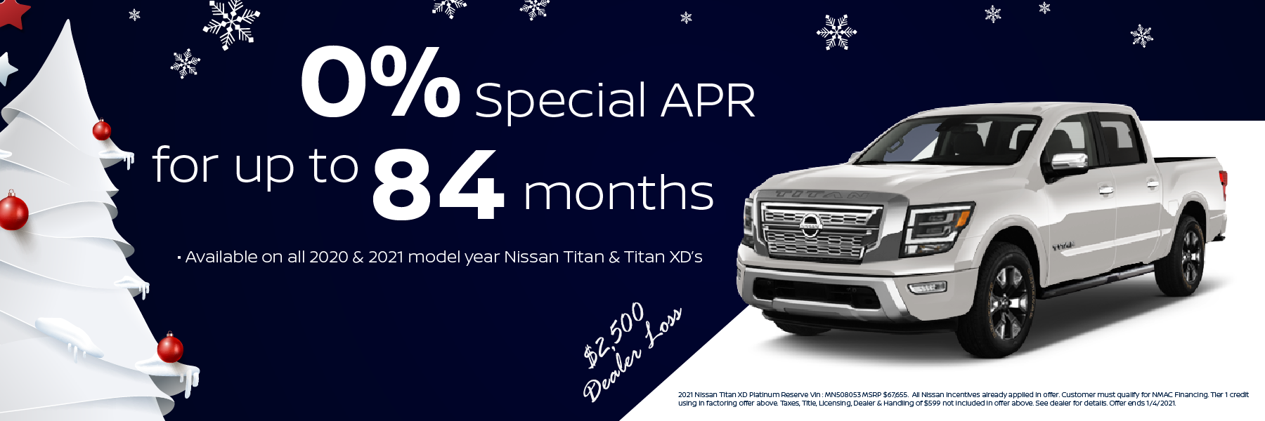Best 2020 and 2021 Nissan Titan Lease and Purchase Specials in Denver, CO