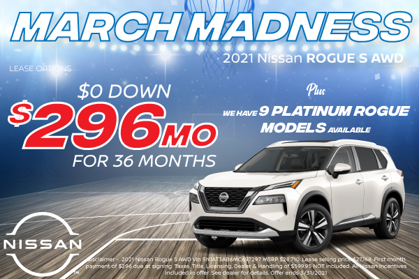 2021 Nissan Rogue Offers for Denver
