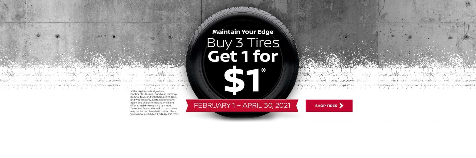 Nissan Auto Tire Service Special for Denver, CO