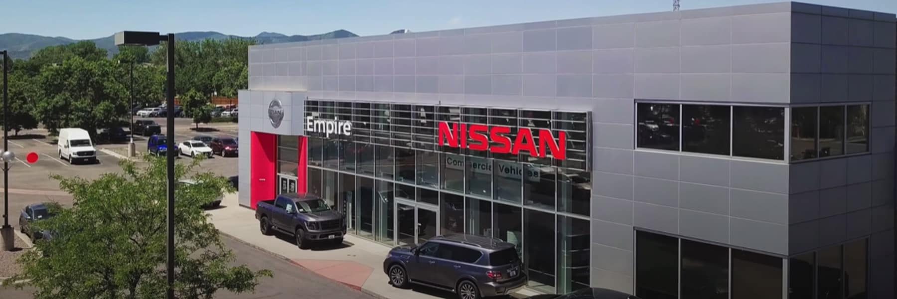 Empire Nissan of Littleton aerial