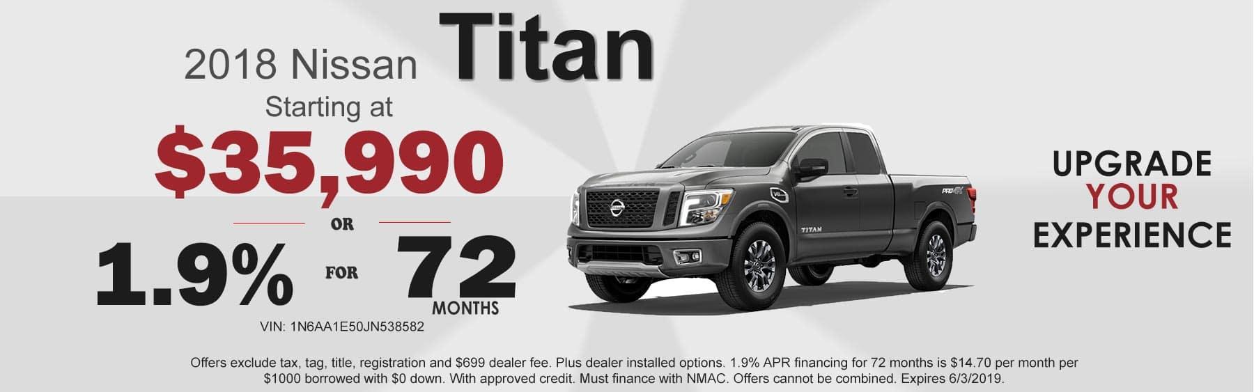 Nissan Titan offers, Titan truck for sale Boone, NC