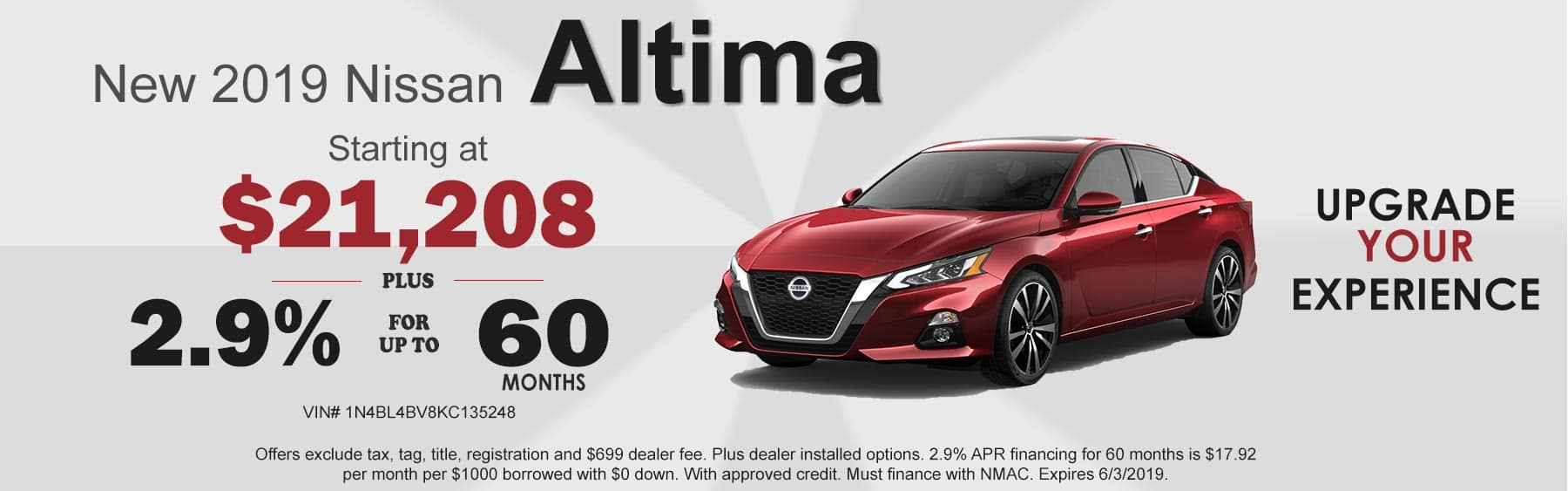 Nissan Altima Offers, Altima for sale Boone, NC