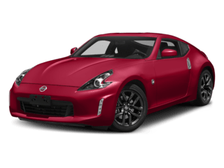 2019 Nissan 370z Coupe angled