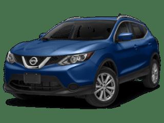 2019 Nissan Rogue Sport angled