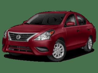 2019 Nissan Versa Sedan angled