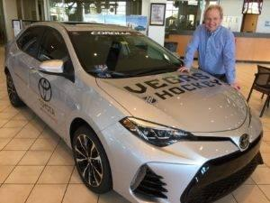 Findlay Toyota Henderson >> Findlay Toyota General Manager John Barr Vying For Man Of