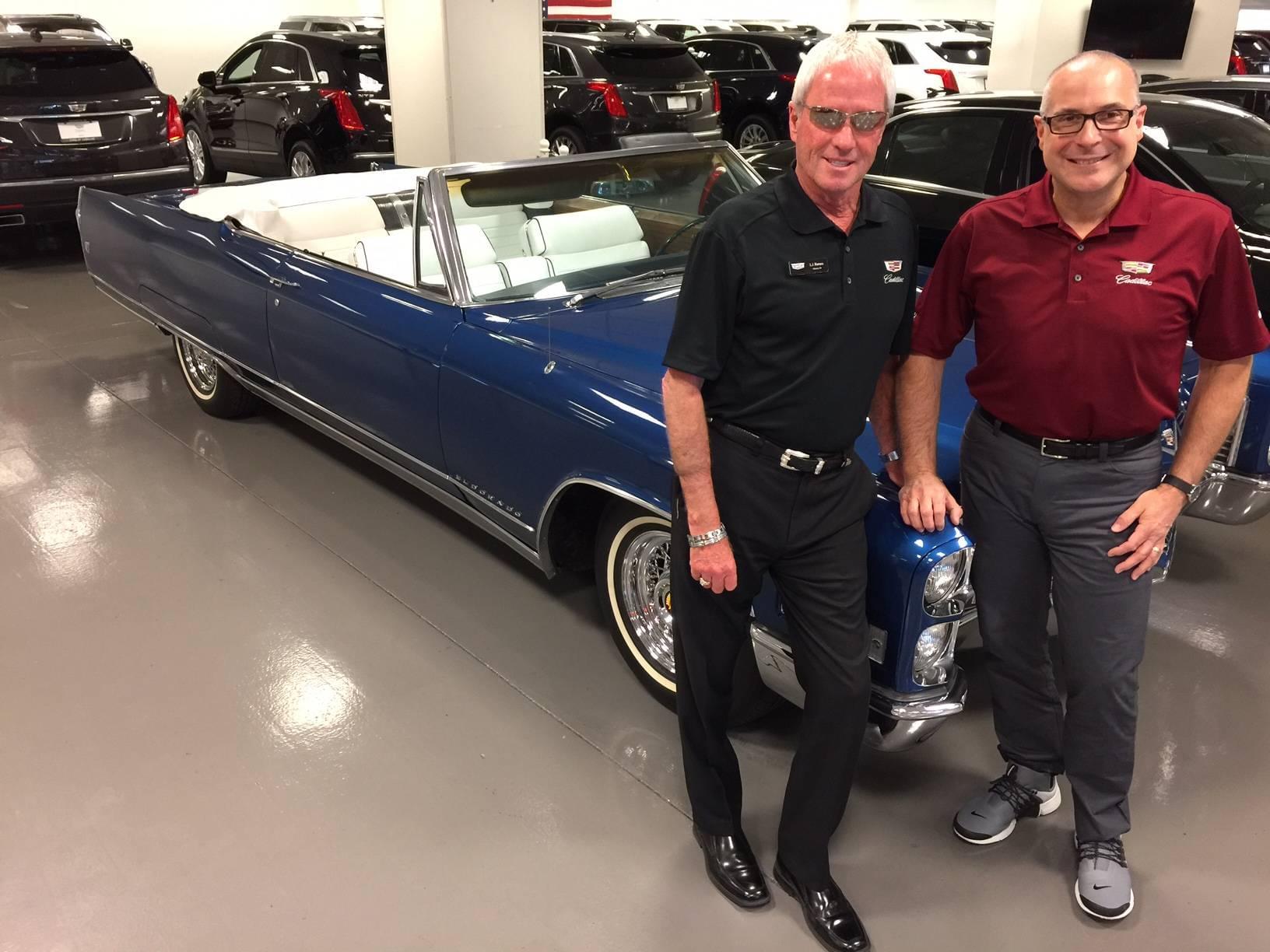 Findlay Cadillac executive L J Harness brings experience munity