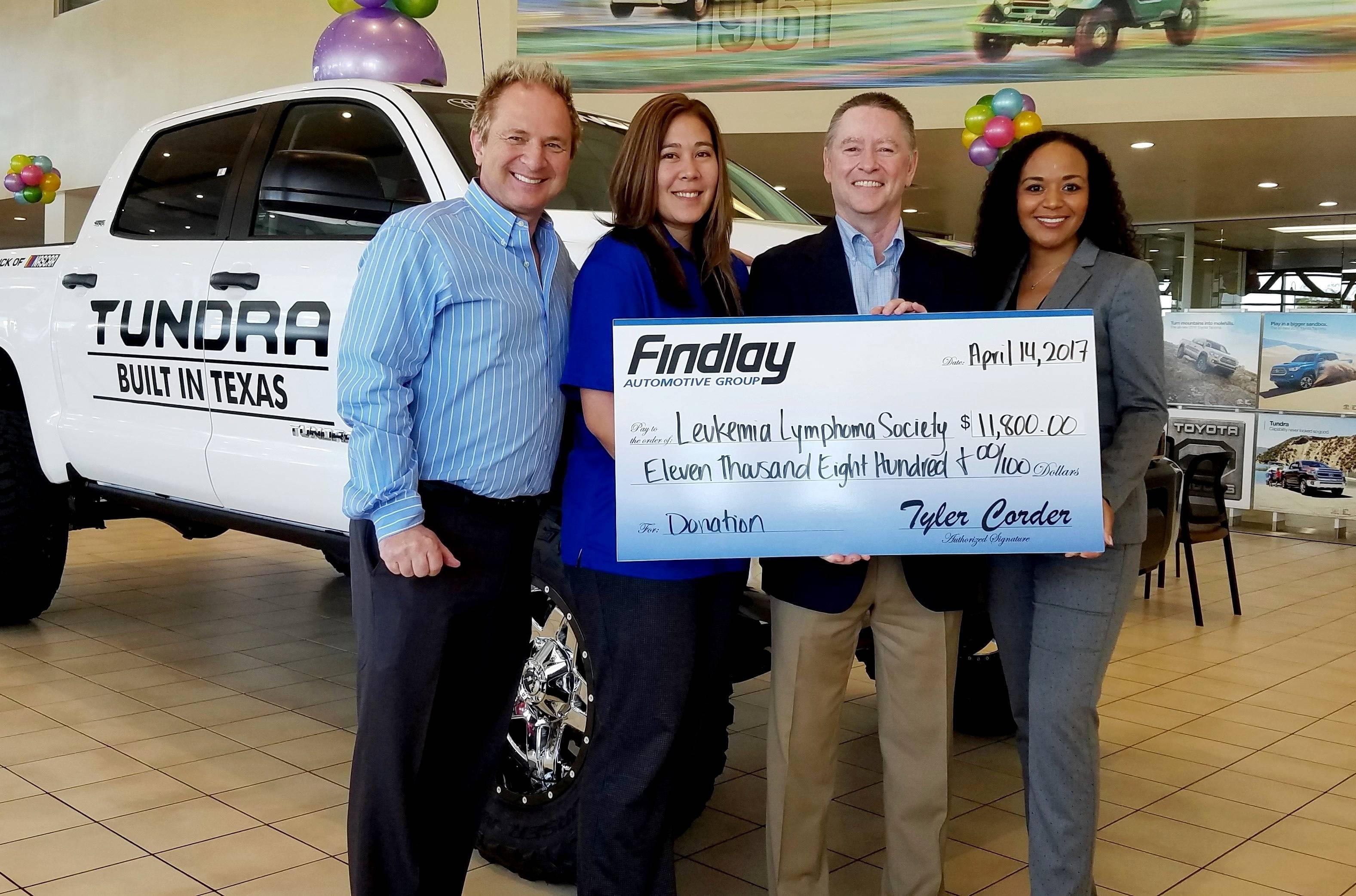 Awesome Findlay Toyotau0027s John Barr Will Do Anything To Raise Money For The Leukemia  U0026 Lymphoma Society | Findlay Auto Group