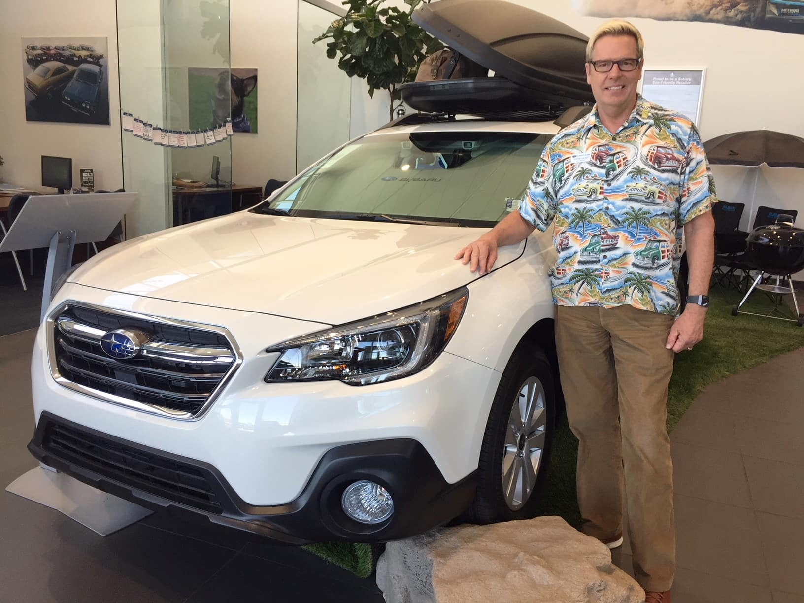 Subaru Of Las Vegas Gm Knows Firsthand About Safety The 2000 Outback Horn Findlay Auto Group