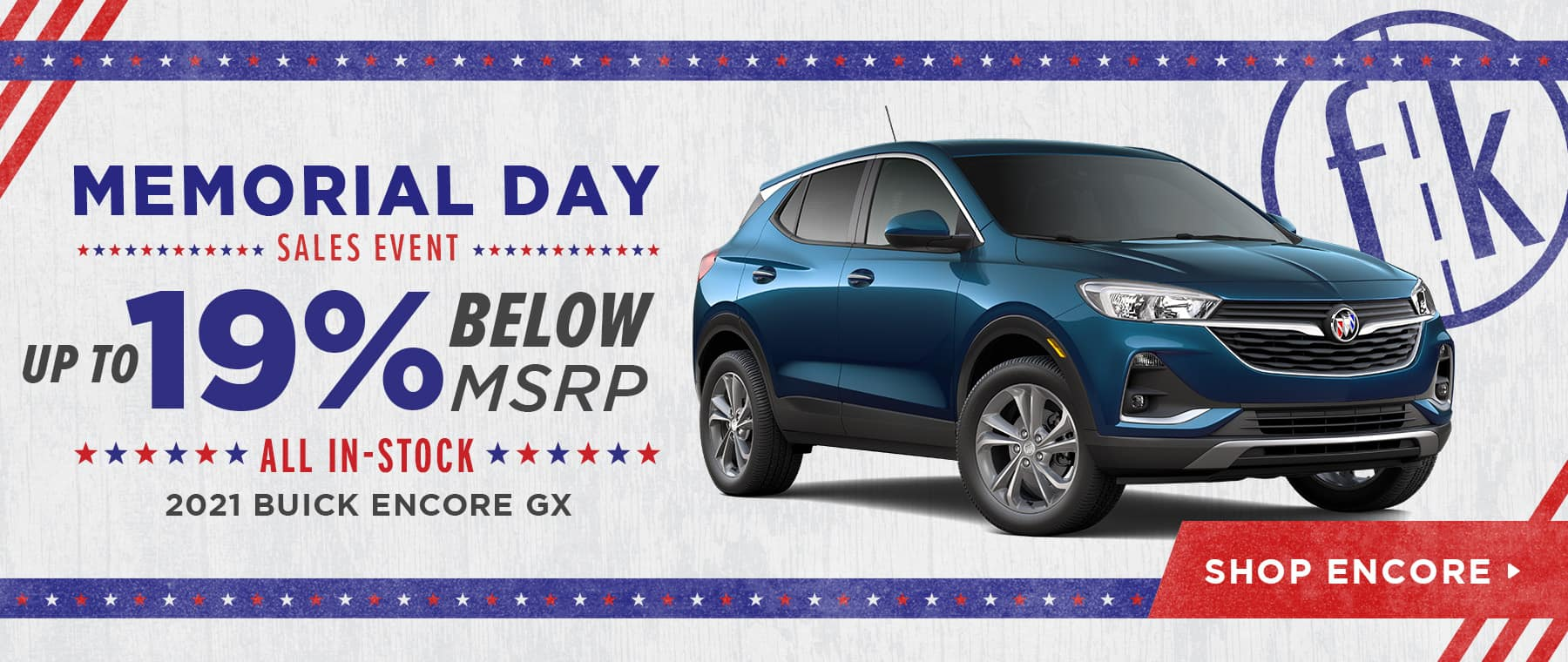 Up To 19% Below MSRP All In-Stock 2021 Buick Encore GX