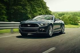 ford mustang convertible lease
