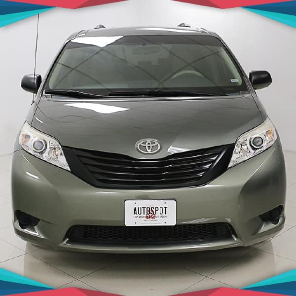 Pre-Owned 2013 Toyota SIENNA I4 LE FWD Front Wheel Drive Mini-van, Passenger