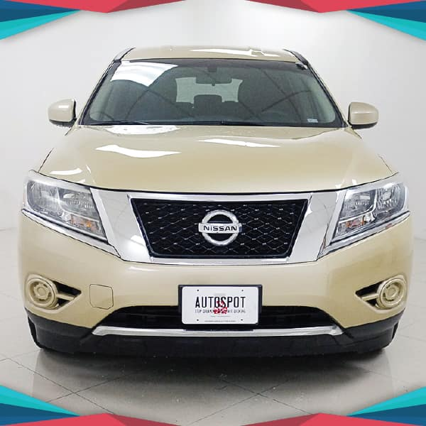 Pre-Owned 2013 Nissan Pathfinder SV AWD