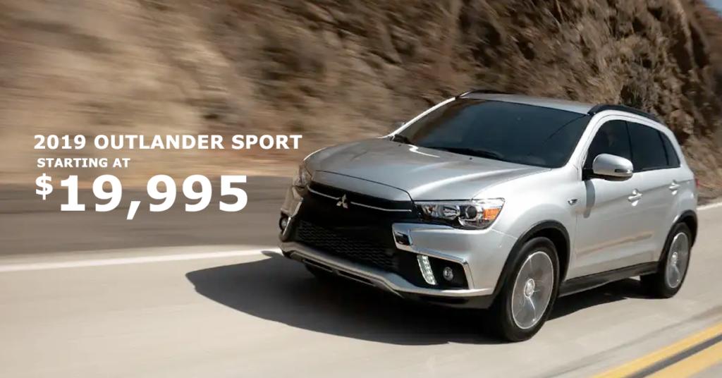2019 Mitsubishi Outlander Sport Special