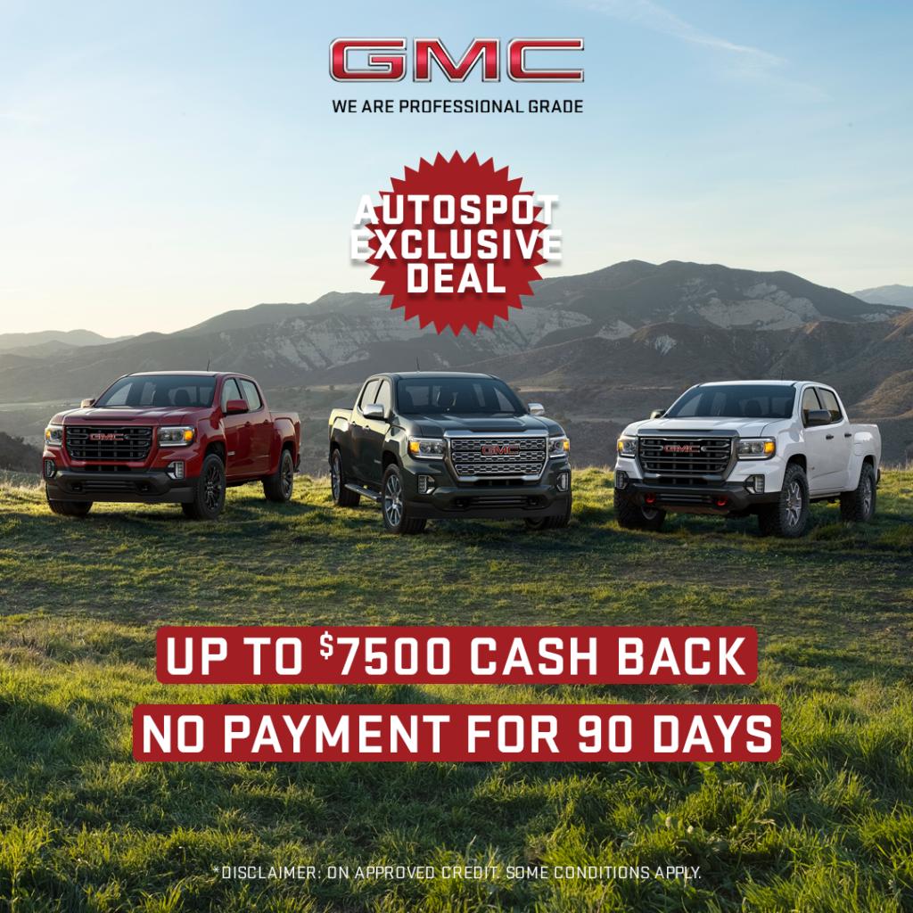 AutoSpot GMC Exclusive Deal
