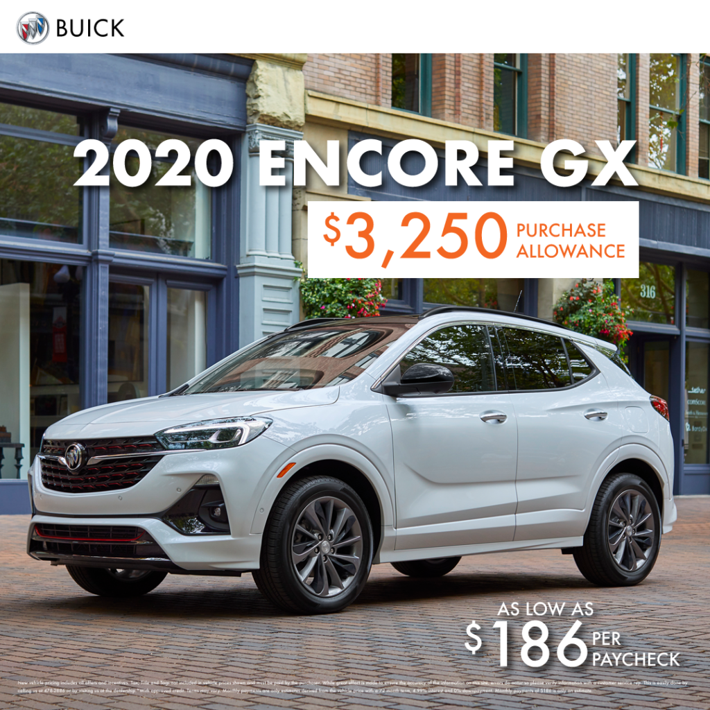 2020 Buick Encore GX Special Offer