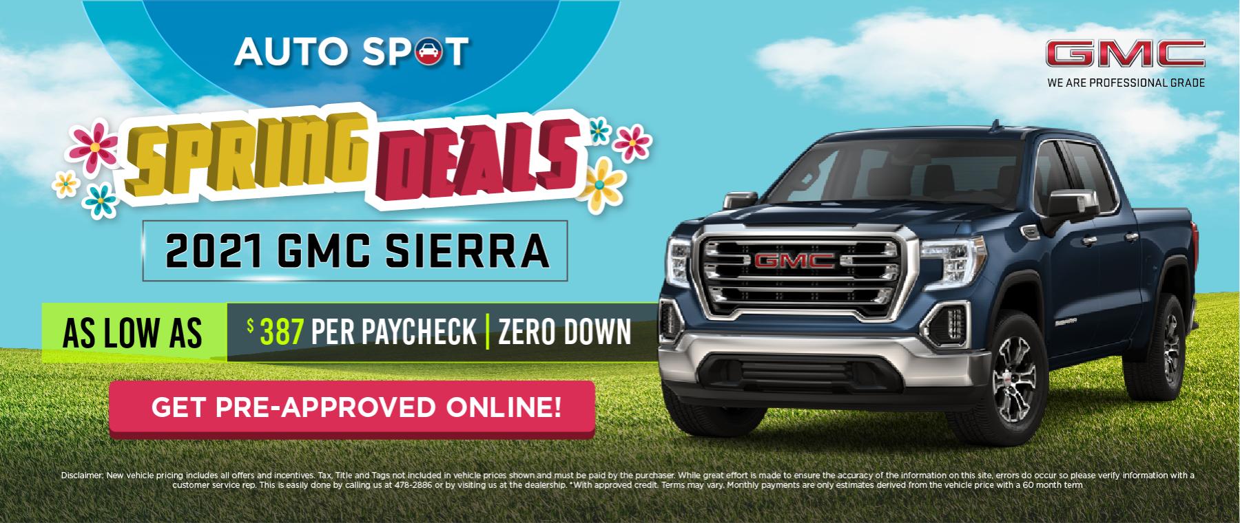 GMC Spring Ads_Web Banner