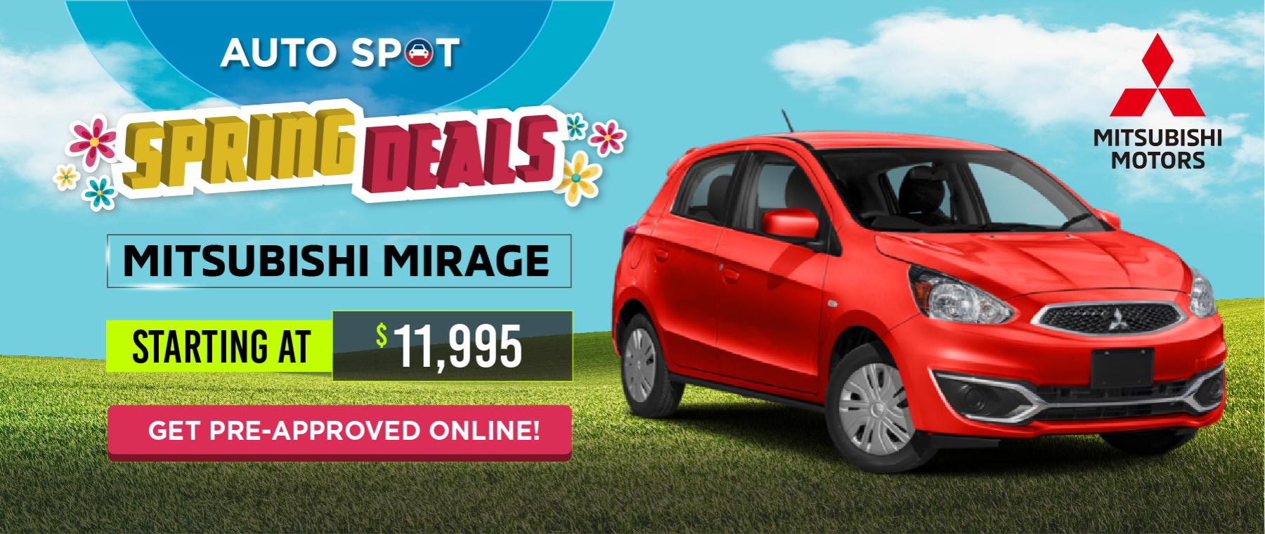 Mitsubishi Spring Ads_Website Banner
