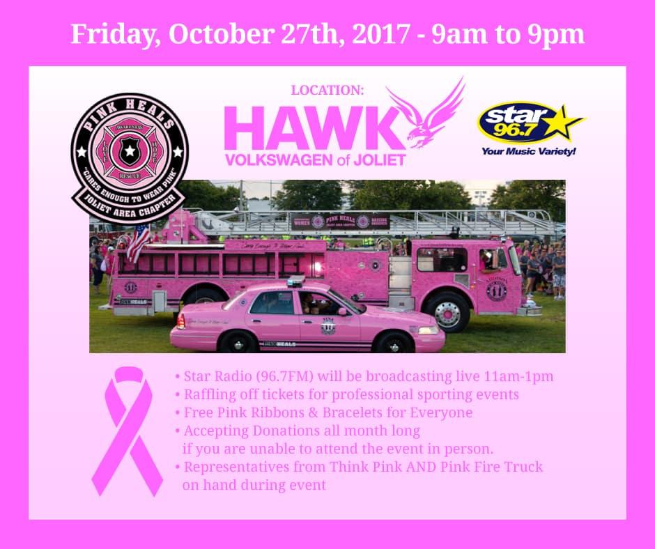 Think Pink Event at Hawk Volkswagen of Joliet