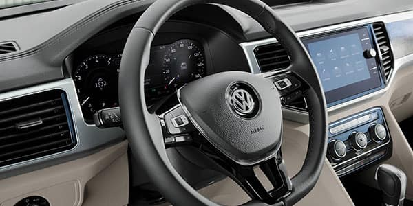 2018 VW Atlas dashboard