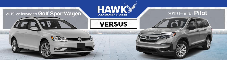 Golf SportWagen vs Honda Pilot