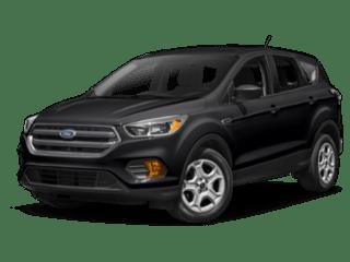 2019 Ford Escape black angled