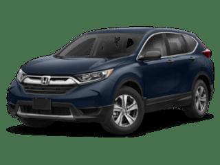 2019 Honda CR-V blue angled