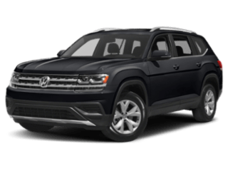 2019 Volkswagen Atlas angled black