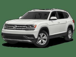 2019 Volkswagen Atlas angled white