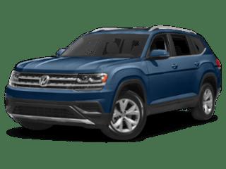 2019 Volkswagen Atlas angled