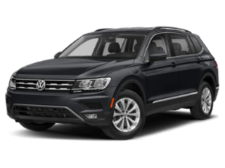 2019 Volkswagen Tiguan black angled