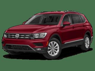 2019 Volkswagen Tiguan red angled