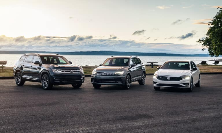 Volkswagen Vehicle Lineup