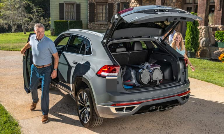 2020 VW Atlas Cross Sport cargo space