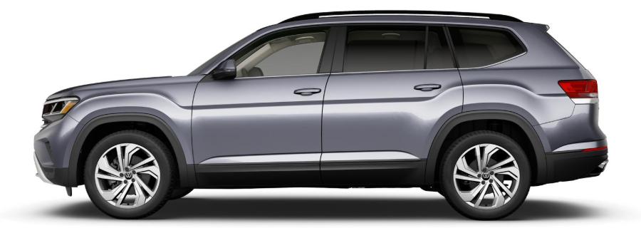 2021 VW Atlas in Platinum Gray Metallic