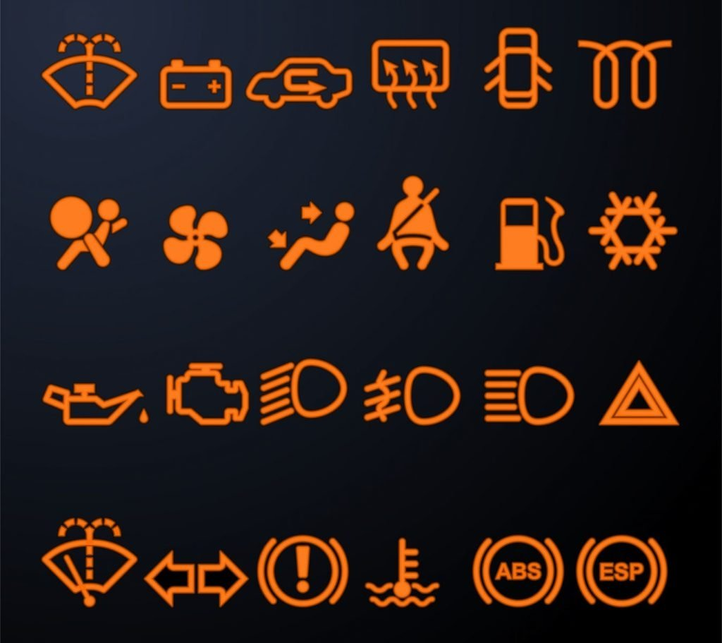 Chevy Spark Dashboard Symbols