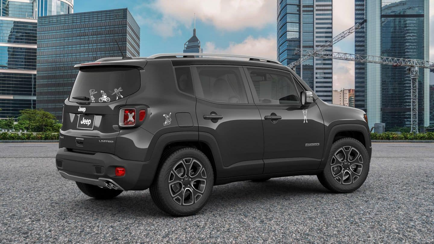 Customize your jeep renegade with exterior graphics