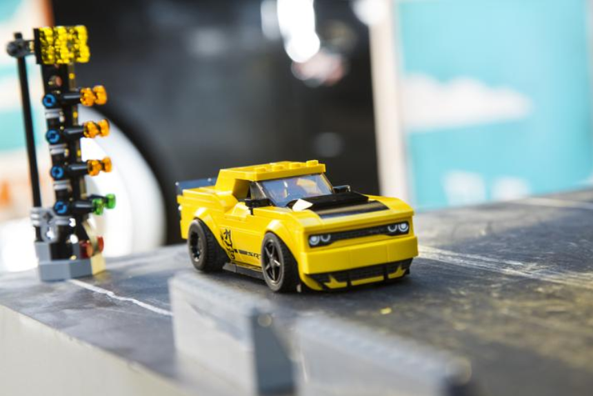 Build Your Own Muscle Car With Dodge LEGO Speed Champions Set